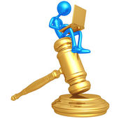 Legal Help Online — Stock Photo