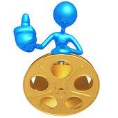Film Critic — Stock Photo