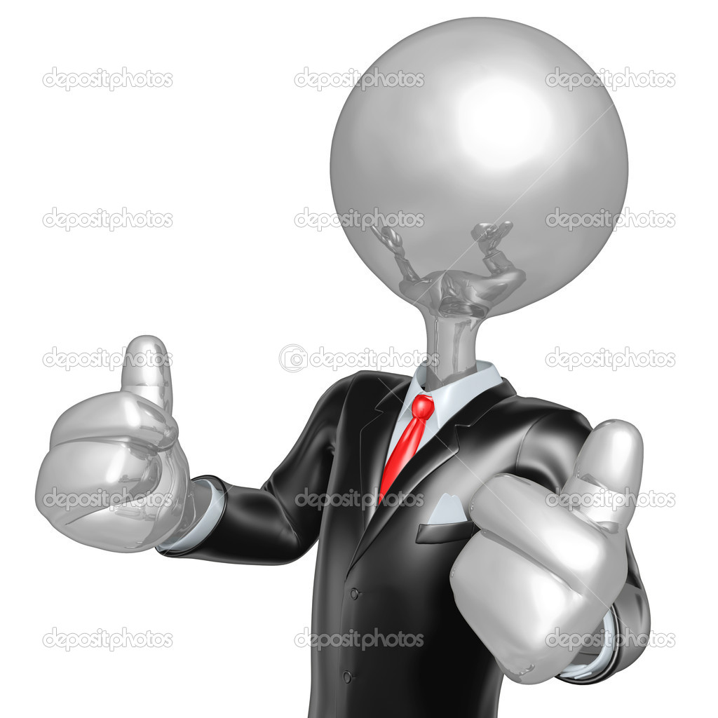 d character businessman dressed for success stock photo 3d character businessman dressed for success stock image