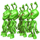 Aliens — Stock Photo