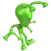 3D Alien — Stock Photo