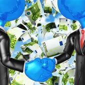 Money Handshake — Stock Photo