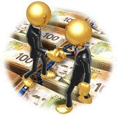 бизнес рукопожатие — Стоковое фото