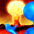 Nuclear Armageddon - Stock Photo