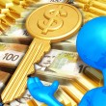 Key To Wealth — Stock Photo #8409422
