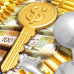 Key To Wealth — Stock Photo #8409433