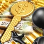 Key To Wealth — Stock Photo #8409441