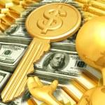 Key To Wealth — Stock Photo #8409452