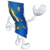 3d World Map — Stock Photo