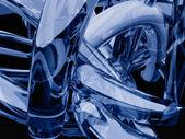 Plątanina szkła — Zdjęcie stockowe
