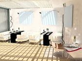 All'interno del moderno café — Foto Stock