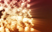 Suddig eld gnistrar — Stockfoto