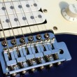 Close up of an old style electric guitar — Stock Photo #8073198