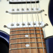 Close up of an old style electric guitar — Stock Photo #8407947