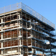 Stock Photo: Building under construction, abandoned incomplete
