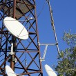 Stock Photo: Antenndishes