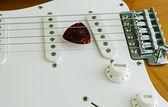 Gitarr volym — Stockfoto