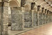 Interior with columns — Stock Photo