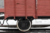 Old boxcar — Stock Photo
