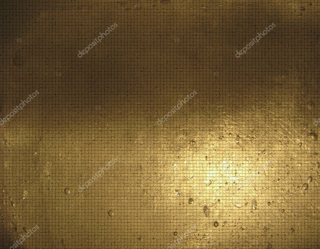 The image of a gold and yellow abstract background — Stock Photo #10289318