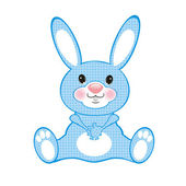 Conejo azul — Foto de Stock
