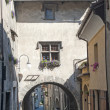 Bard (Aosta, Italy) - Medieval village — Stock Photo #10216131