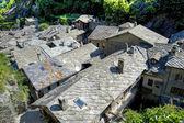 Bard - Medieval village — Stock Photo