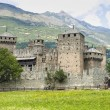 Castle of Fenis - Stock Photo