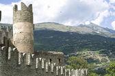 Castle of Fenis — Stock Photo