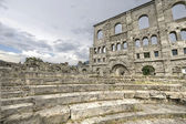 Aosta - Roman Theatre — Stock Photo