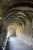 Aosta - Cloister of Sant'Orso — Stock Photo