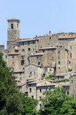 Sorano (toskánsko, itálie) — Stock fotografie