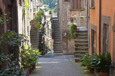 Vitorchiano, old town — Stock Photo