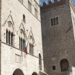 Main square of Todi — Stock Photo