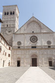 Assisi, San Rufino — Stock Photo