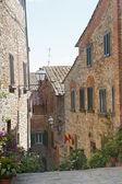 Lucignano (Arezzo) — Stock Photo