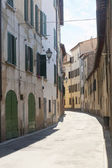 Calle antigua de sinalunga — Foto de Stock
