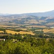 Landscape in Val d'Orcia (Tuscany) - Photo