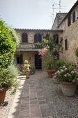 Montefollonico (Siena) — Stock fotografie