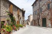 Montefollonico (Siena) — Stock Photo