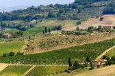Farm in Val d'Orcia — Stock Photo