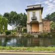 Villa Gaia on the Naviglio Grande — Foto de Stock