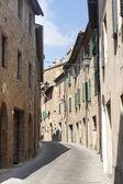 San Quirico d'Orcia (Tuscany) — Foto de Stock