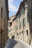 San Quirico d'Orcia (Tuscany) — Stock Photo