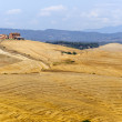 Farm in Val d'Orcia (Tuscany) — Stock Photo