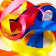 Ribbons of various colors on white background — Stock Photo #8273377
