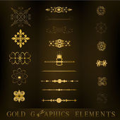 Graphic elements — Stock Vector