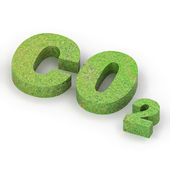 Green Co2 Concept — Stock Photo