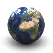 Earth Globe Europe — Stock Photo