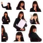 Affärskvinna — Stockfoto